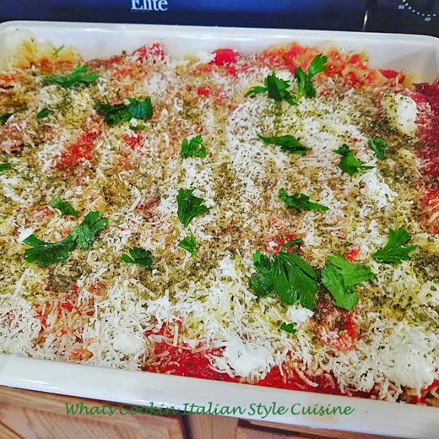 Bow Tie Mock Lasagna #pasta #lasagna #recipe #baked