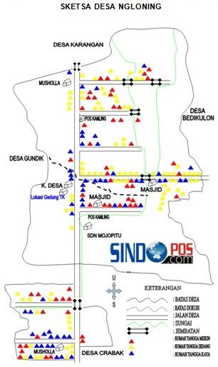 Profil Desa & Kelurahan, Desa Ngloning Kecamatan Slahung Kabupaten Ponorogo