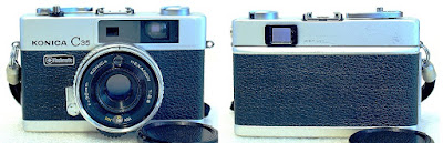 Konica C35 Flashmatic Rangefinder (Chrome) #500
