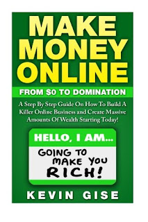 Image of one of the books available at the make money online bookstore, the link to the store is in the caption below.