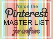 I am a Master Crafter on Pinterest!