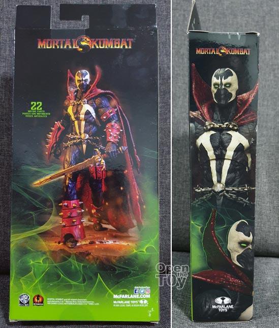 Mcfarlane Mortal Kombat Spawn Toy
