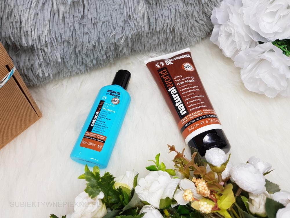Nowości marzec 2018 - upominki Drogerie Jaśmin - produkty do włosów Natural World