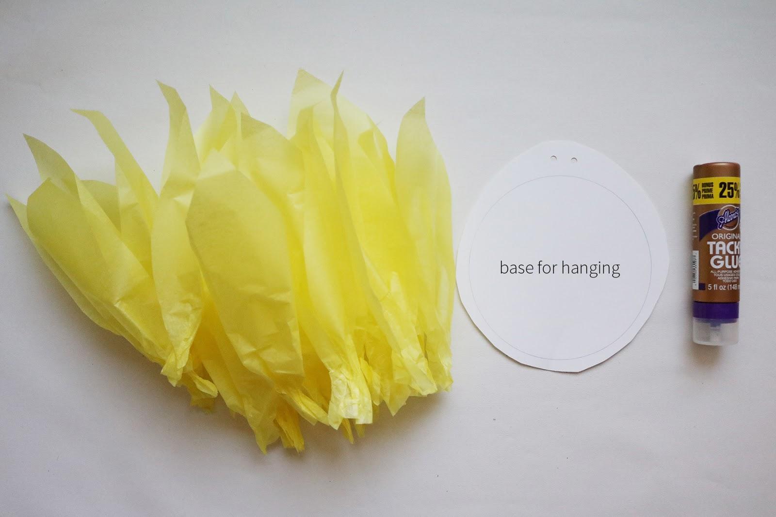 diy giant tissue paper flowers | Creative Bag