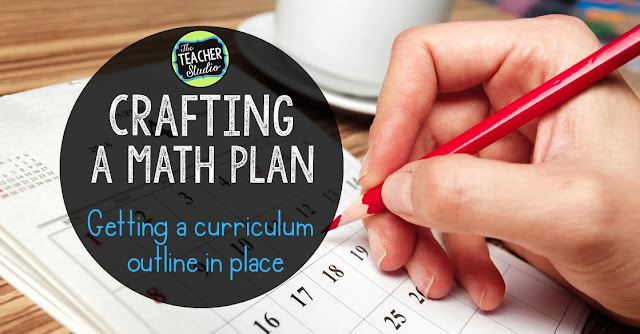 Math planning curriculum planning yearly planning