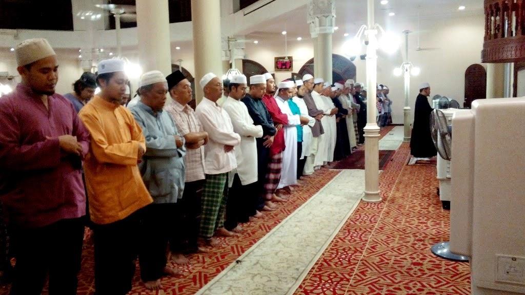 Masjid Al-Mukarramah, Bandar Sri Damansara. Rawatan Jarak Jauh Al-Qayyum