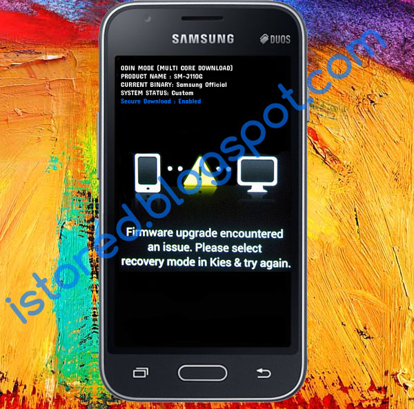 Samsung J1 Ace  J110g  Firmware Upgrade Encountered An Issue Solution