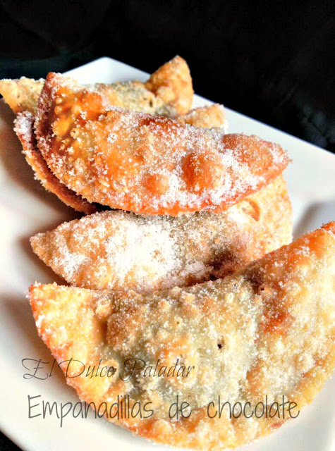 Empanadillas de chocolate