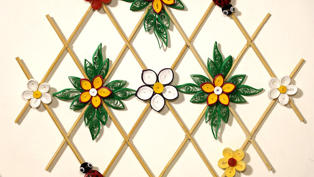 How to Make Quilling Decoration