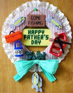Fathers Day Wreath-ideas