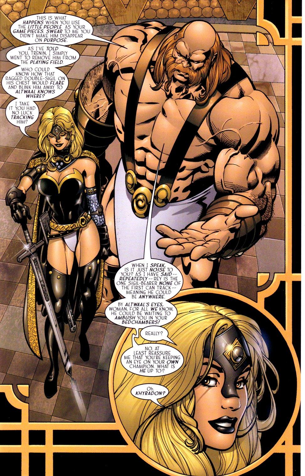 Read online Sigil (2000) comic -  Issue #18 - 8