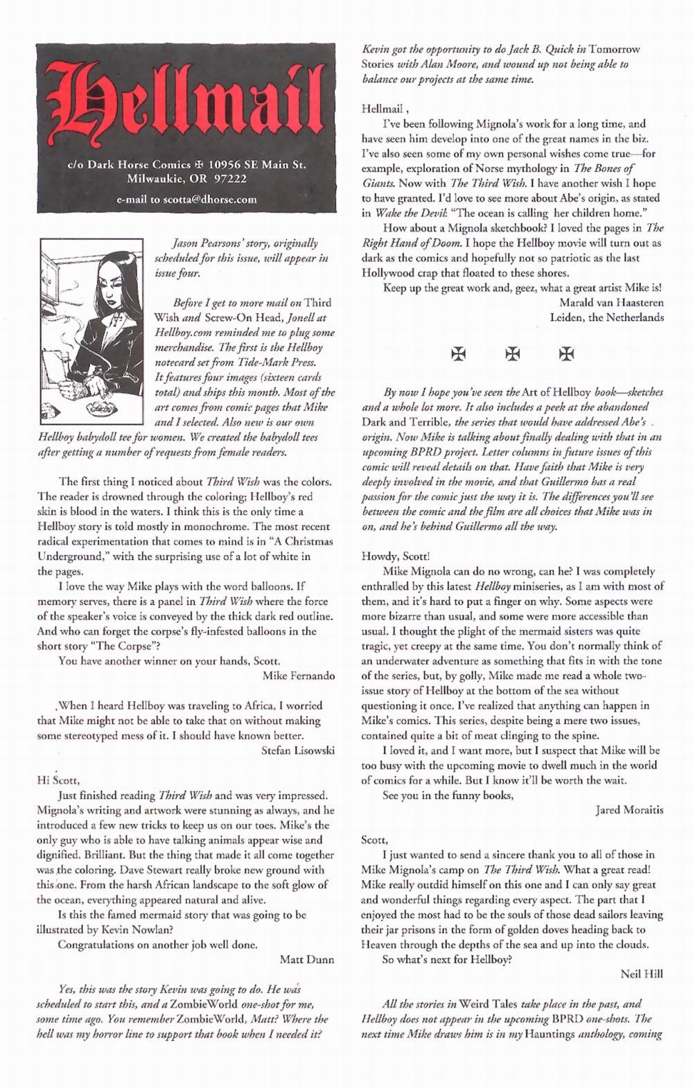 Read online Hellboy: Weird Tales comic -  Issue #2 - 33