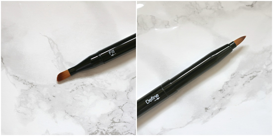 Saturated Colour Cosmetics Double Ended Lip Brush Review