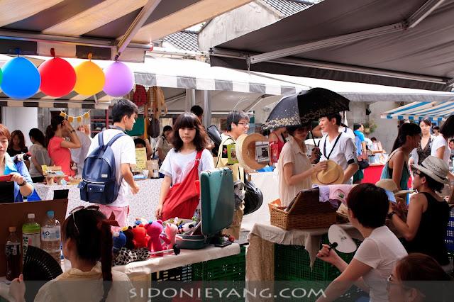 四四南村擺攤 Simple Market 2012/07/22