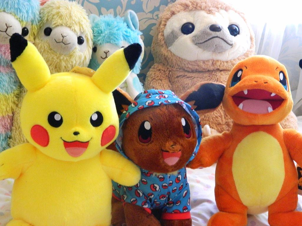 ad55c97864c Build-A-Bear Pokemon Plushies
