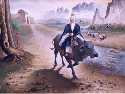 Representación pictórica de Lao-Tse