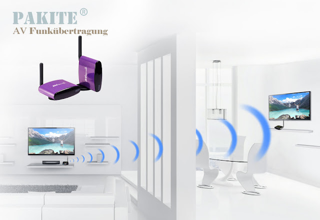 PAT-550 drahtlose TV-sender
