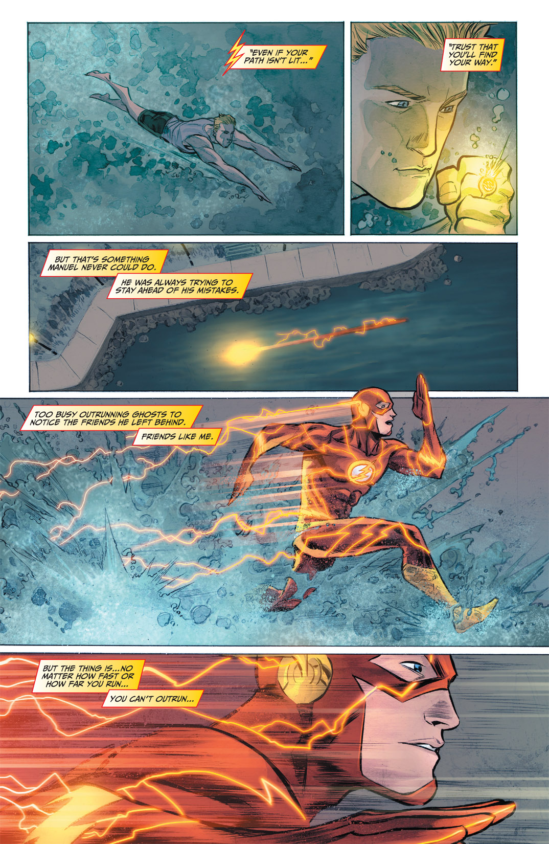 Read online The Flash (2011) comic -  Issue #1 - 21