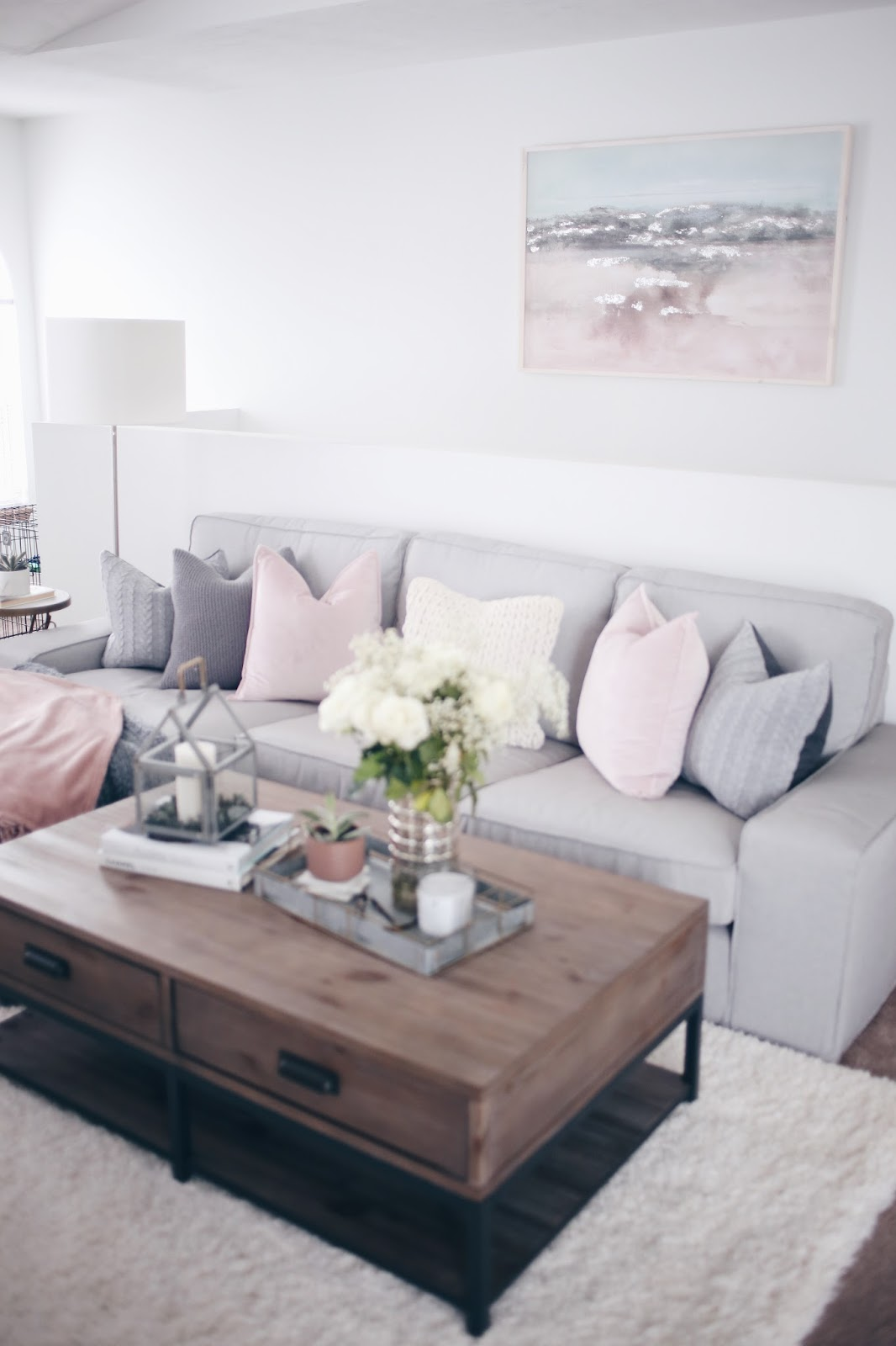 Living Room Update! | Fashionably Kay