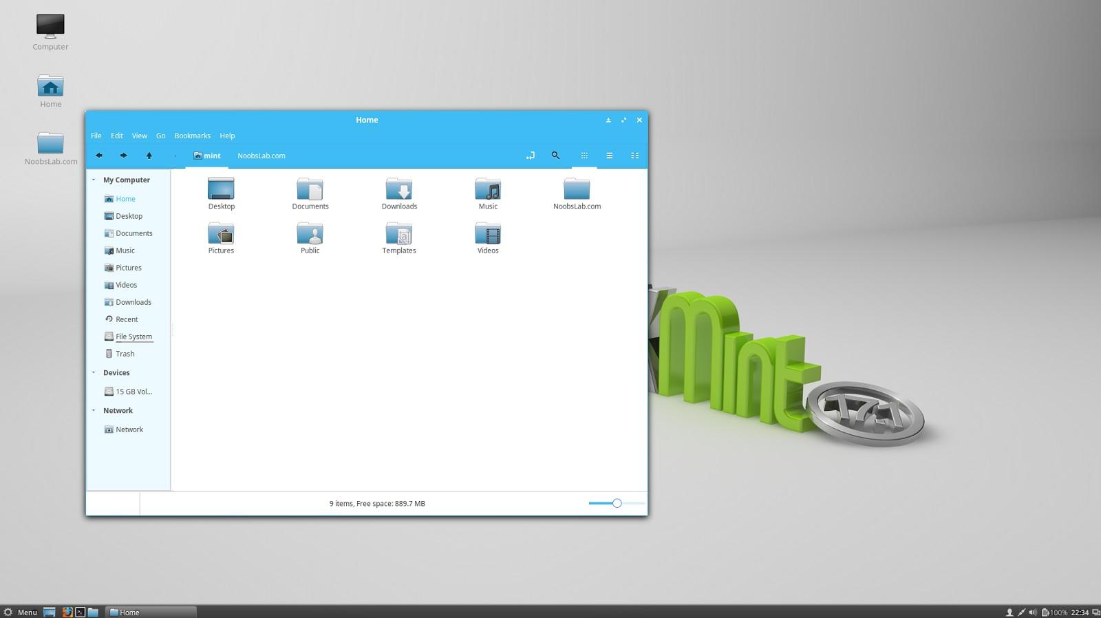 Material Design \'Azure\' GTK Theme For Ubuntu/Linux Mint - NoobsLab ...