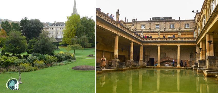 Parade Gardens e le terme romane