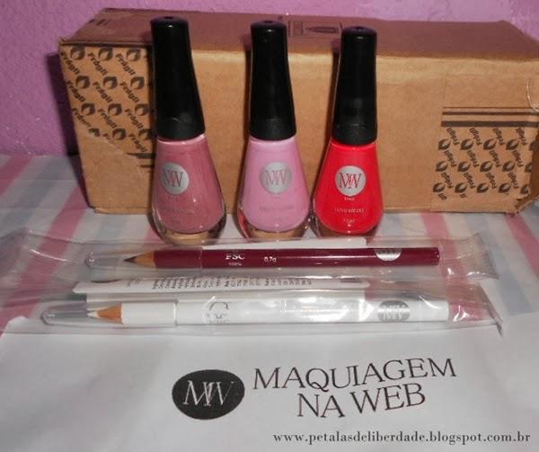 Produtos MW, loja, Maquiagem na Web, esmaltes, lápis de olho, delineador de olhos, lápis de boca, comprar maquiagem na internet, beleza