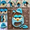 Gorro Buho crochet