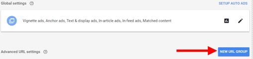 cara membuat grup URL untuk penerapan iklan otomatis adsense blog