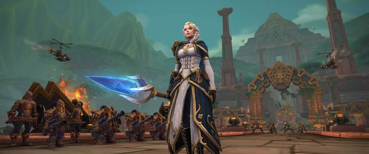 BfA Jaina Proudmoore overview in WoW Battle for Dazar'alor raid
