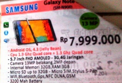 haga Samsung Galaxy Note 3