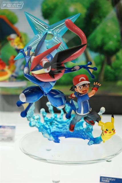 Ash y Greninja G.E.M. de Pokemon