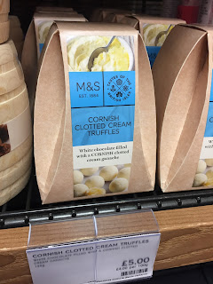 marks and spencer Cornish White Chocolate Clotted Cream Truffles