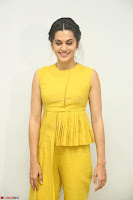 Taapsee Pannu looks mesmerizing in Yellow for her Telugu Movie Anando hma motion poster launch ~  Exclusive 134.JPG