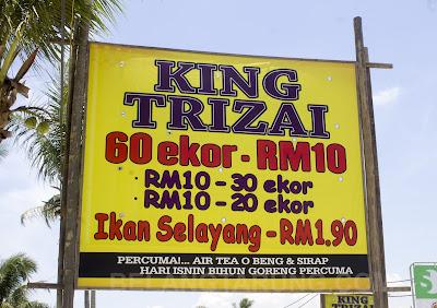 Restoran King Trizai Penarik Murah