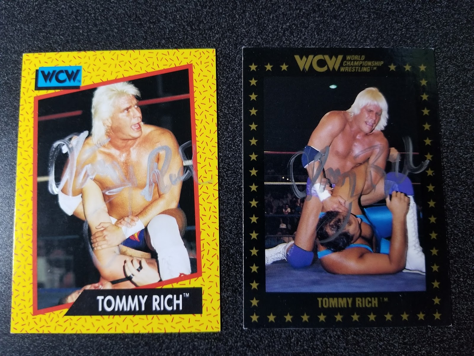 The Wrestling Insomniac Signed Trading Cards Tommy Rich Tully