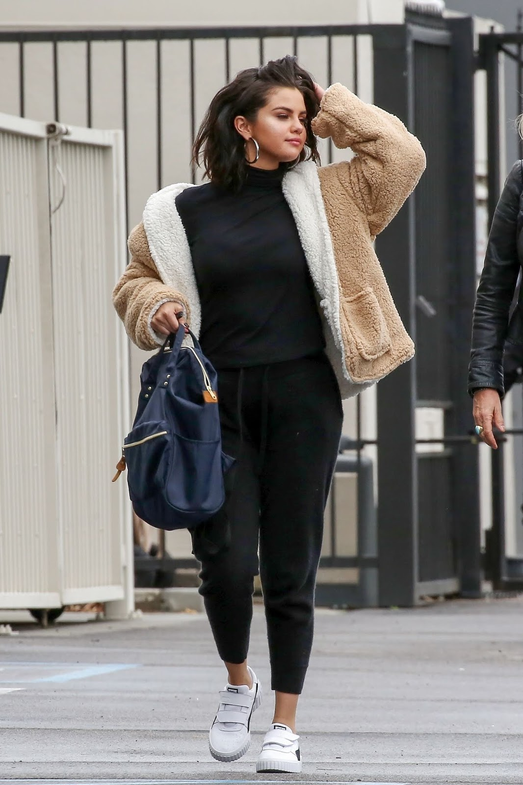 Selena Gomez - Heading to the studio in Los Angeles - 02/13/2019