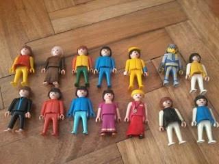 los playmobil ayudan al niño a representar su mundo interior