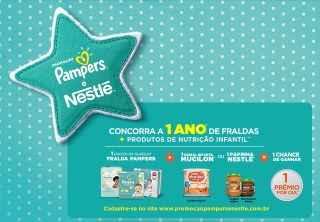 Cadastrar Promoção Pampers e Nestlé 2018 Concorra 1 Ano Fraldas e Produtos Nestlé Grátis