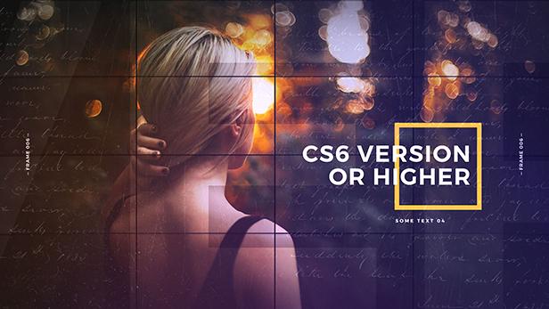 VideoHive Elegant Squares Slideshow Adobe After Effects Templates - Adobe after effects slideshow templates