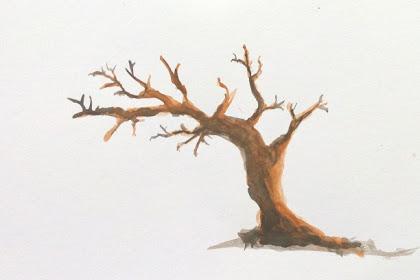 Mewarnai Gambar Batang Pohon
