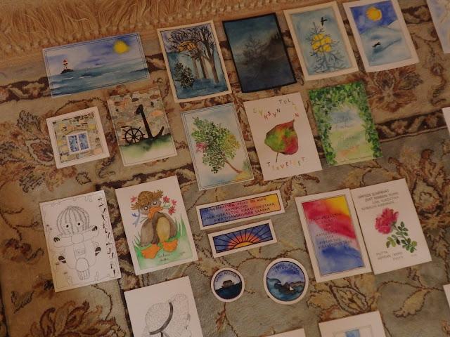 Matolle leviteltyjä kortintapaisia