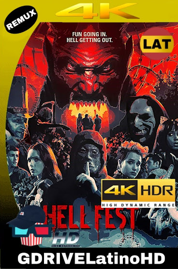 Hell Fest: Juegos Diabólicos (2018) BDRemux 2160P 4K HDR Latino-Ingles MKV
