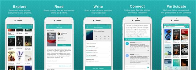 Review Aplikasi Sweek vs Wattpad