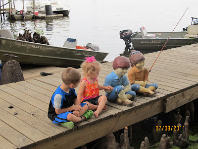 CANADAY TRAVEL BLOG: Reelfoot Lake, TN camping - July 1st