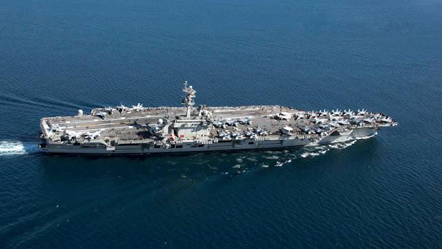 """El Pentágono afirma que trasladó su portaviones a Oriente Medio en respuesta a una """"amenaza creíble"""" por parte de Irán"""