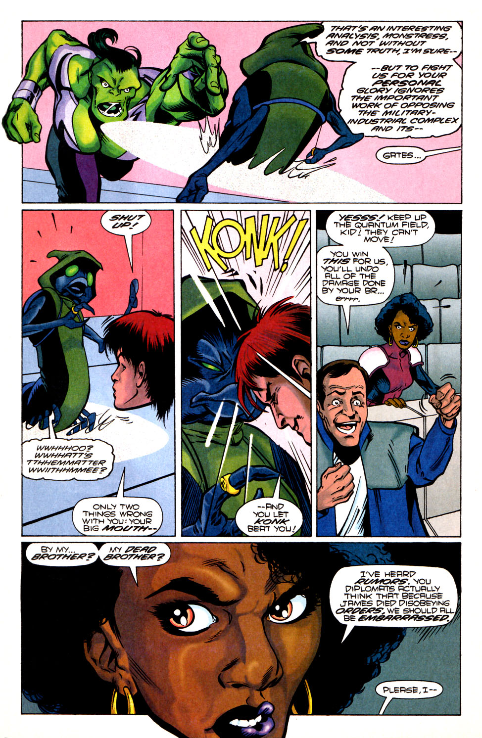 Legion of Super-Heroes (1989) 82 Page 17