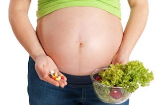 vitamin ibu hamil DHA asam folat kalk  B6