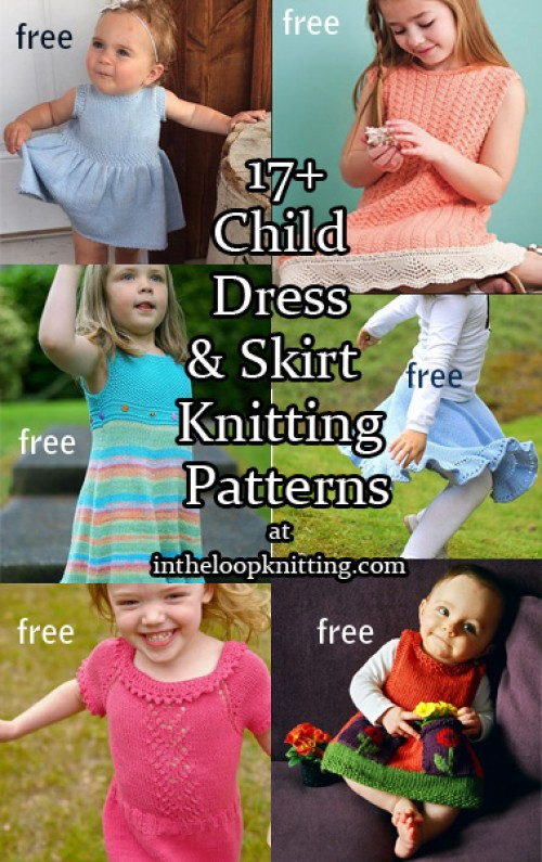 Dresses & Skirts for Children - Knitting Patterns