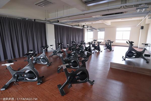 台中港區運動公園飛輪教室