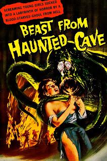 Póster película La bestia de la cueva maldita